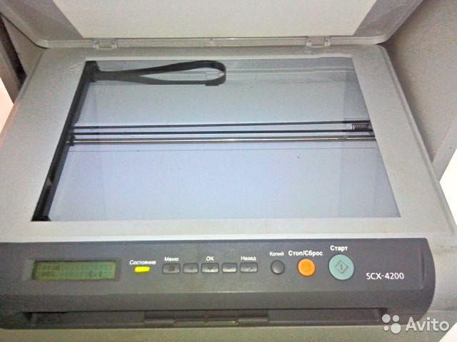 Самсунг scx 4200 драйвер для сканера